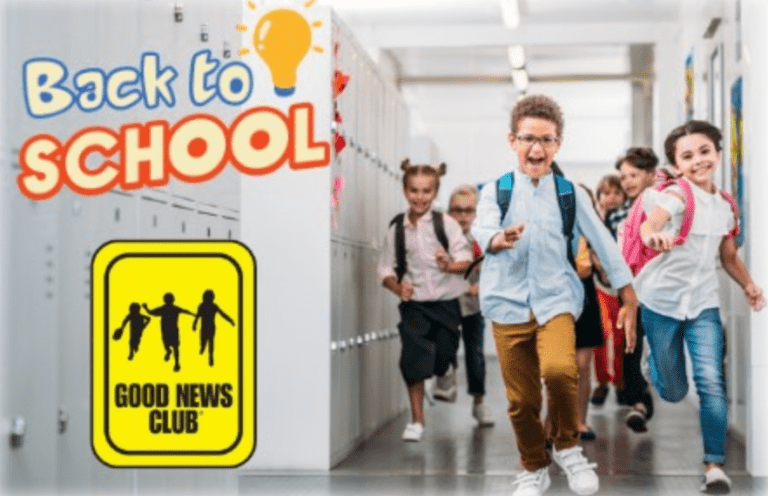 Good News Club is back in schools!